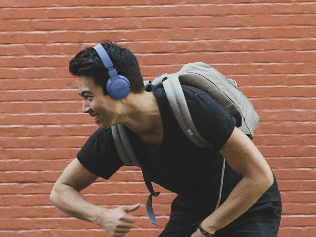 JBL Tune 660NC wireless headphones have active noise cancellation to keep the noise out