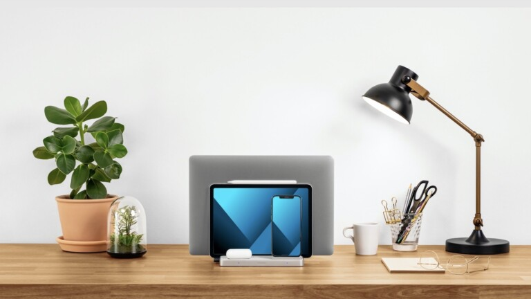 Kensington StudioCaddy Apple device storage system supports your entire Apple ecosystem