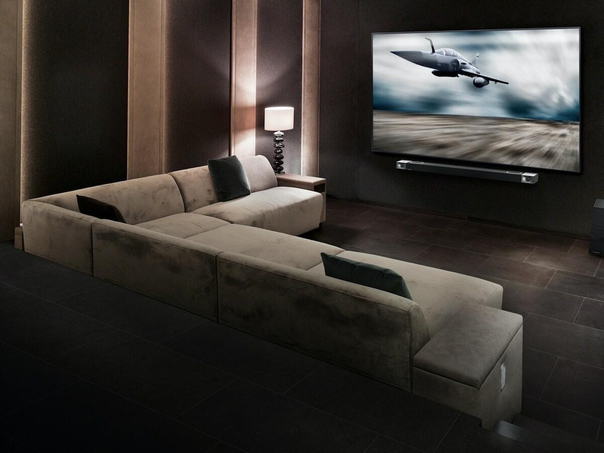 Klipsch Cinema 1200 Dolby Atmos smart soundbar has Dolby Atmos decoding for lifelike audio thumbnail