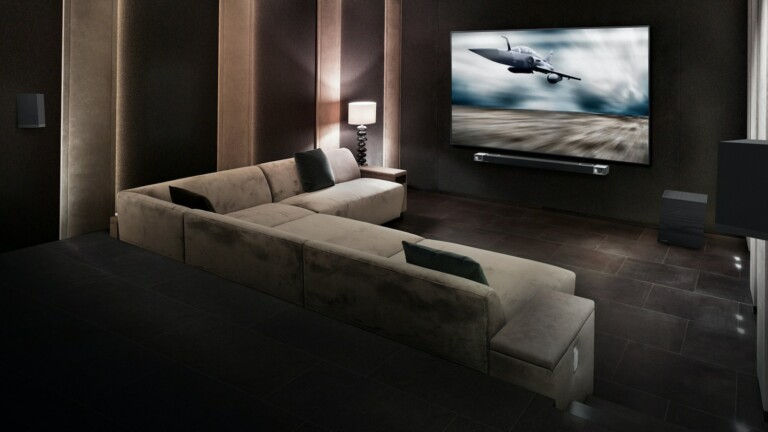 Klipsch Cinema 1200 Dolby Atmos smart soundbar has Dolby Atmos decoding for lifelike audio