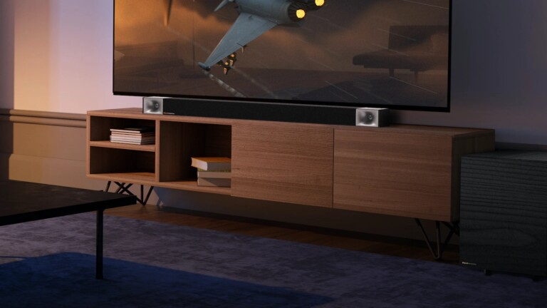 Klipsch Cinema 800 Dolby Atmos smart soundbar immerses you in sound with 8 drivers