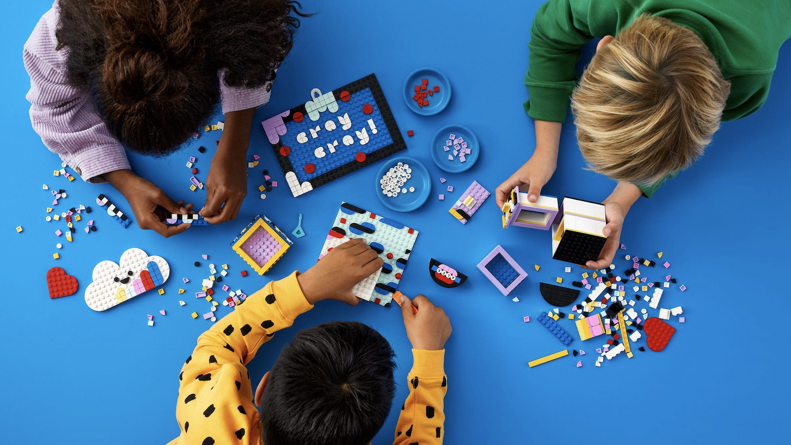 LEGO DOTS Creative Designer Box building set has everything kids and adults need to create