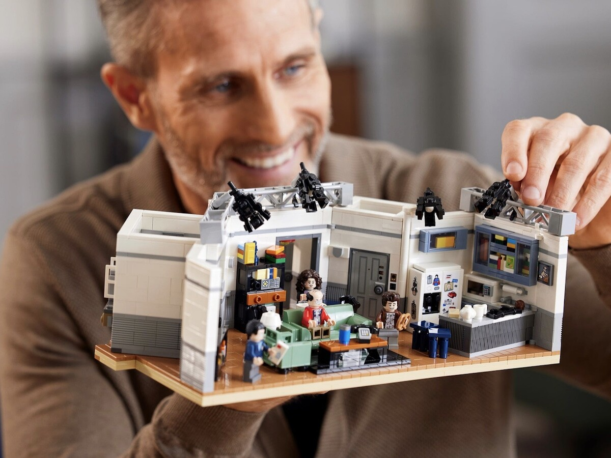 LEGO Ideas Seinfeld building set lets you relive moments from the iconic 90s sitcom
