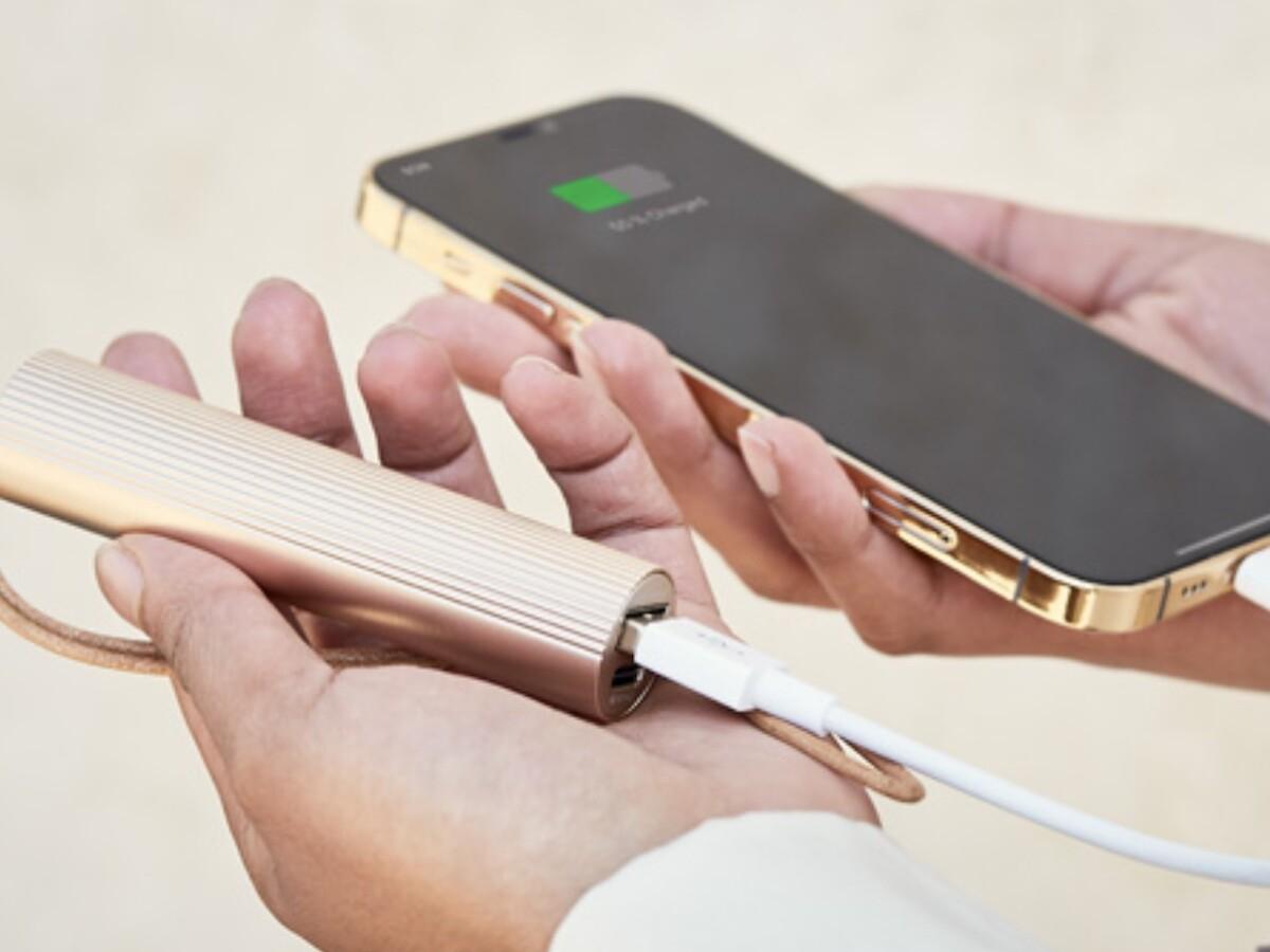 Lexon Fine Tube Power Bank 2 sleek portable charger features a 3000 mAh capacity thumbnail