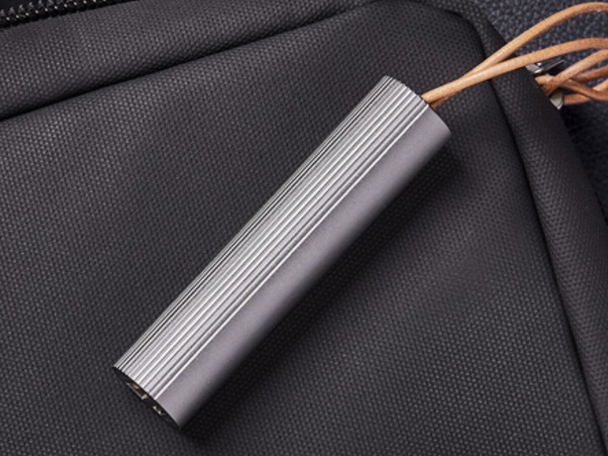 Lexon Fine Tube Power Bank 2 sleek portable charger features a 3,000 mAh capacity