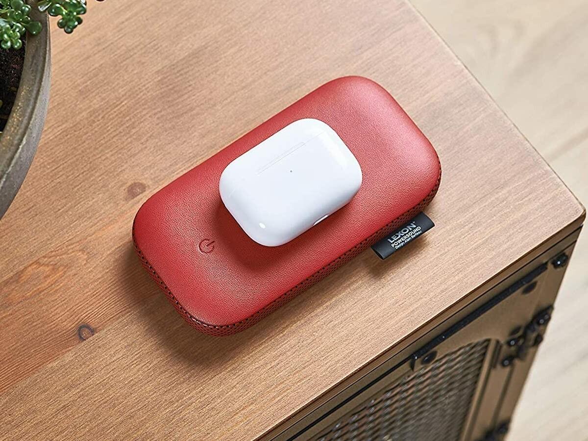 Lexon PowerSound sleek wireless power bank has a 360° Bluetooth speaker & 20-hour playtime