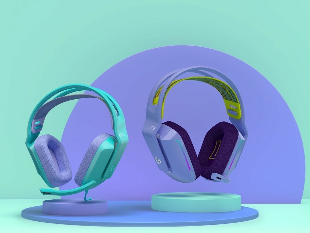 Logitech G335 wired gaming headset weighs just 240 grams and is super comfortable