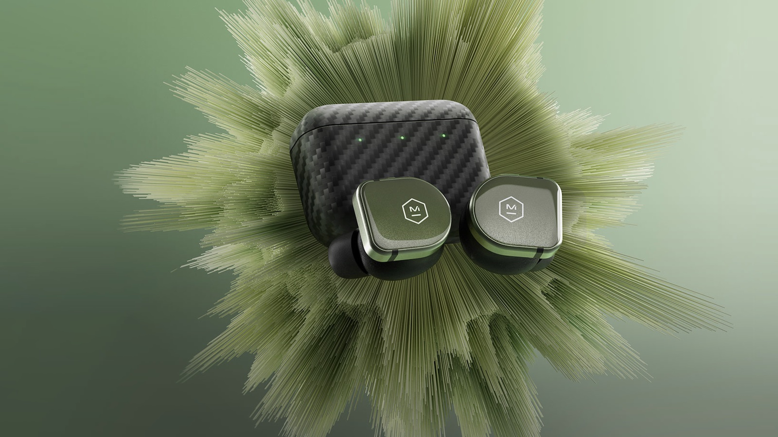 Master & Dynamic MW08 Sport noise-canceling earphones feature durable sapphire glass
