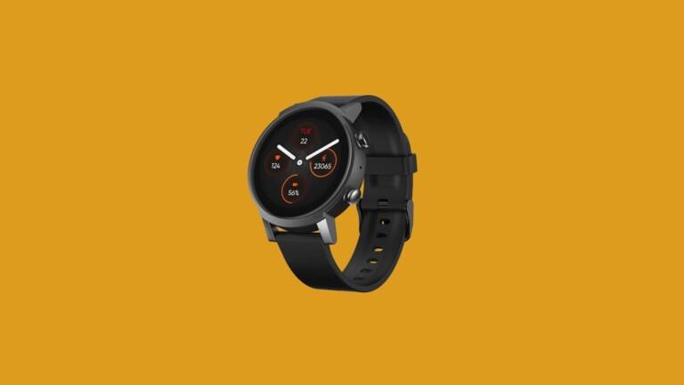 Mobvoi TicWatch E3 advanced health watch has a Qualcomm Snapdragon Wear 4100 platform