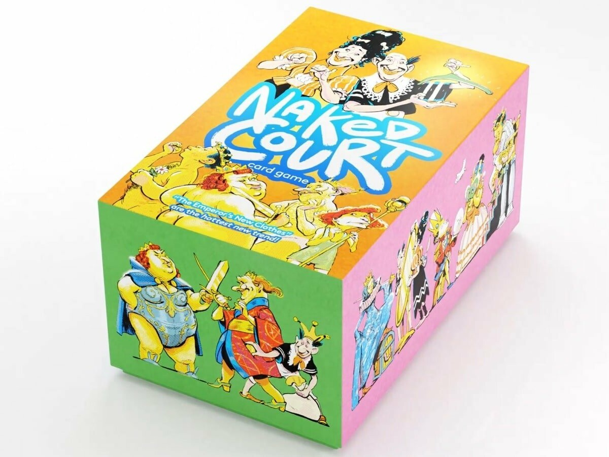Naked Court: The Card Game pushes boundaries while remaining a family-friendly activity