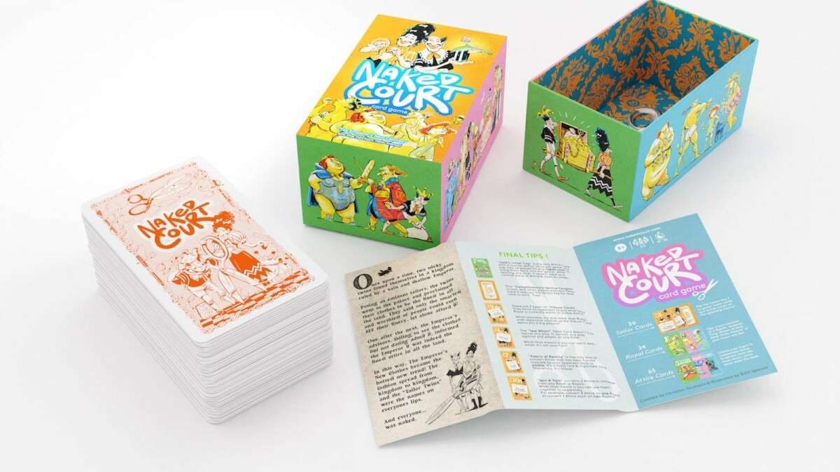 This fast-moving card game ups the ante on family-friendly game night fun for everyone