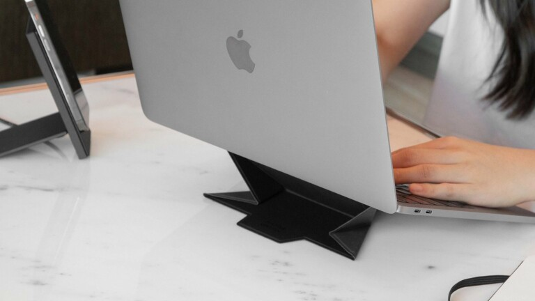 Native Union Rise Laptop Stand folds like origami to create your ideal mobile workstation