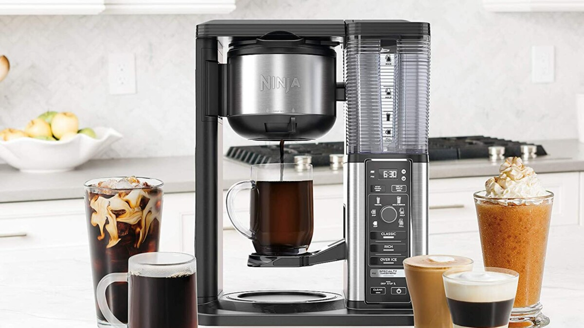 Ninja Specialty Coffee Maker brings cafe-quality home with 6 brew sizes