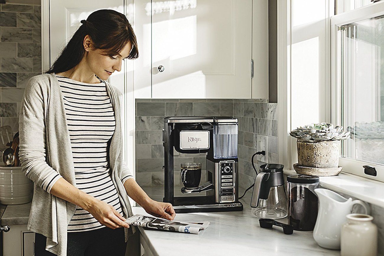 Ninja Specialty Coffee Maker brings cafe-quality home with six brew sizes