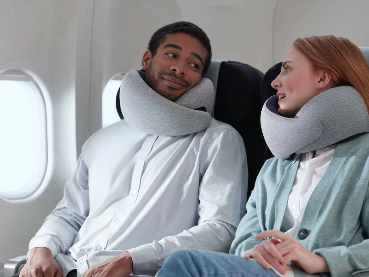 Ostrichpillow Go Neck Pillow features memory foam for maximum comfort and support
