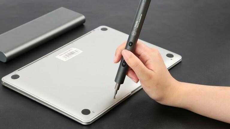 PENDORA 48E minimalist screwdriver set includes 48 high-precision bits for any DIY task