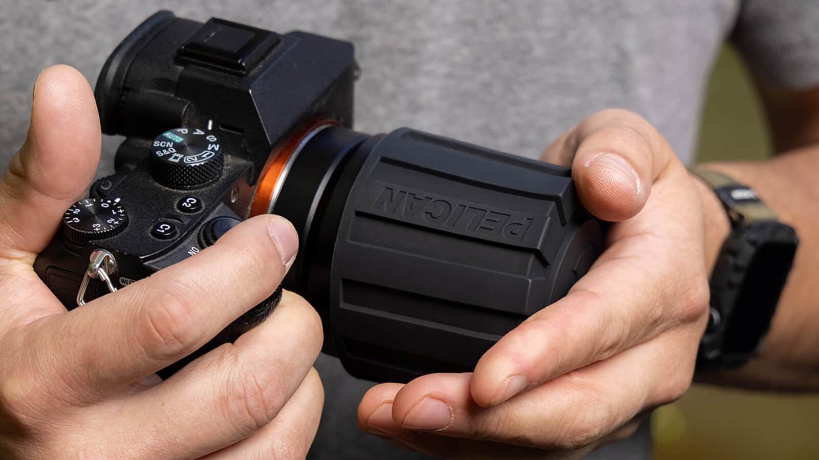 Outdoor Rugged Camera Lens Cover protects every lens you own from dirt, moisture, and more