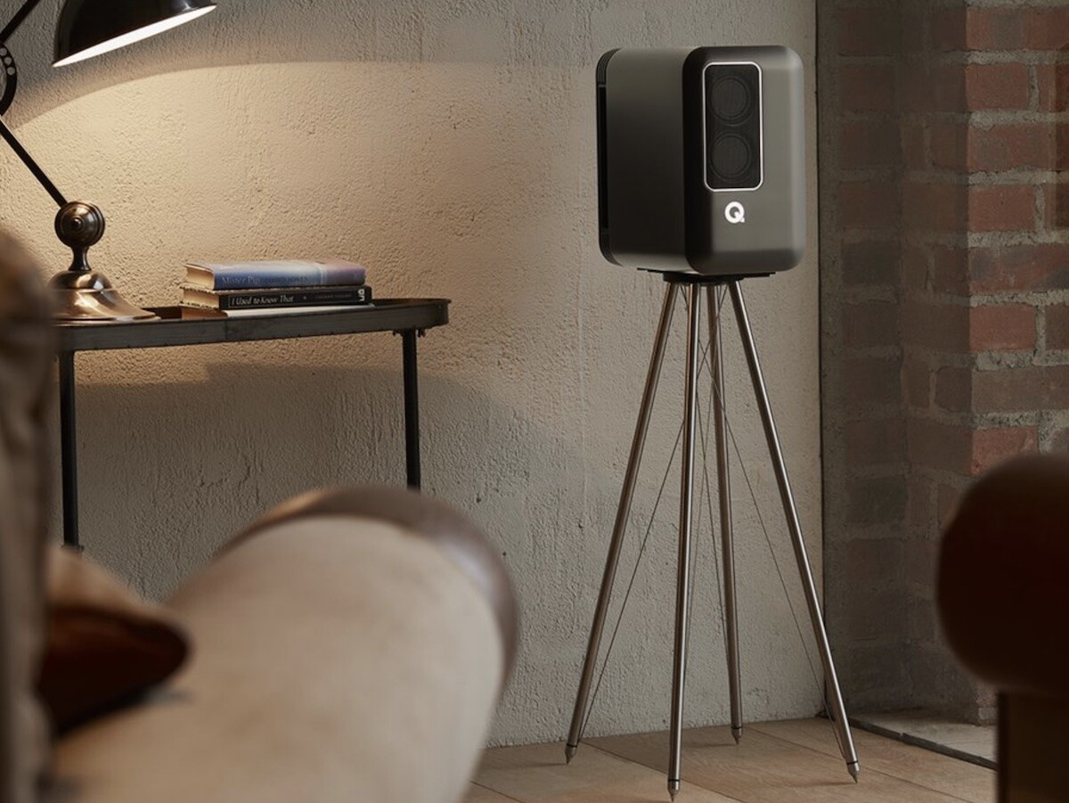 Q Active 200 Speakers by Q Acoustics deliver uncompromised hi-fi sound with minimal design