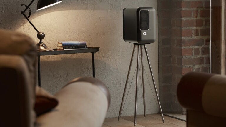 Q Active 200 Speakers by Q Acoustics deliver uncompromised hi-fi sound with a minimal design