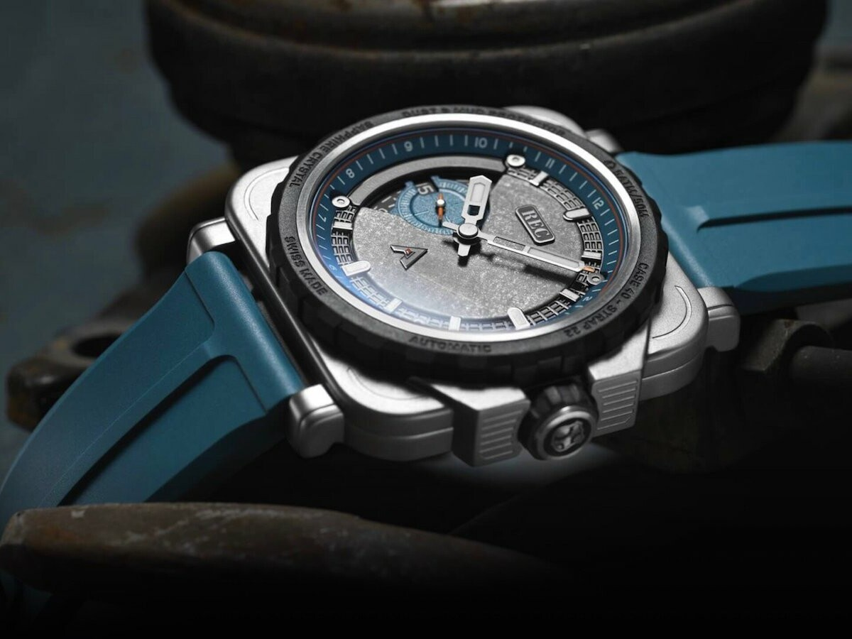 REC Watches RNR ARKONIK limited-edition car watch has material from an iconic Land Rover