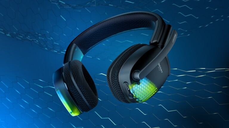 ROCCAT Syn Pro Air gaming headset provides immersive 3D audio with 50 mm drivers