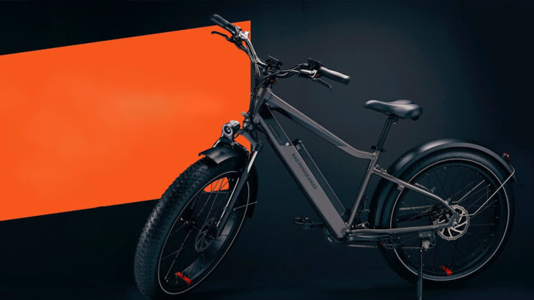 Rad Power Bikes RadRover 6 Plus fat electric bike gives you up to 45+ miles per charge