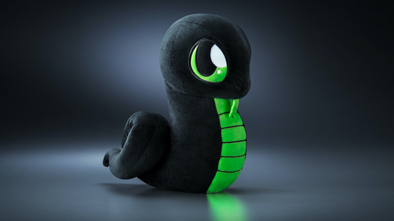 Razer Sneki Snek Slippers have a warm, plush lining and feature recycled materials