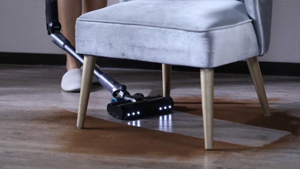 La aspiradora inalámbrica de mano Redkey F10 es plegable para facilitar la limpieza. Aspiradora plegable Redkey F10