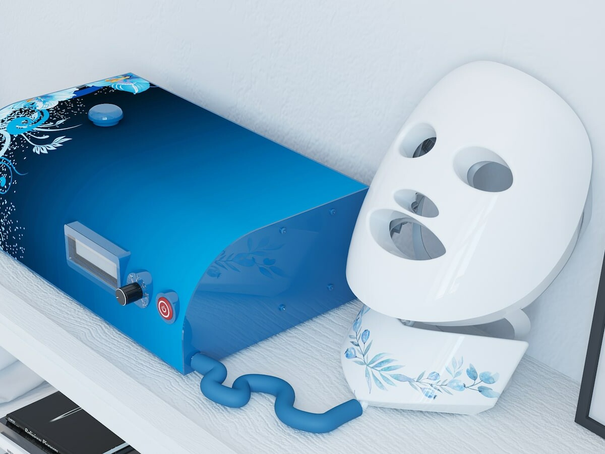 Renuvi Touch skincare massaging mask system tightens and firms skin on your face and neck thumbnail