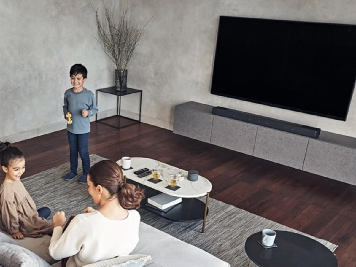 Sony HT-A7000 smart Dolby Atmos soundbar has 7.1.2 channel surround sound for lifelike audio