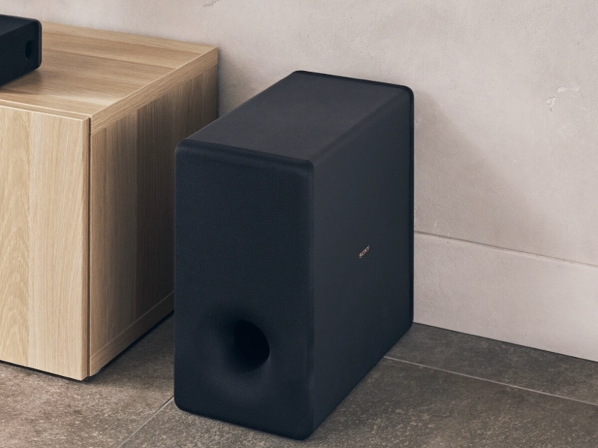 Sony SA-SW3 optional subwoofer for HT-A9/A7000 provides dramatic sound with 200W of bass