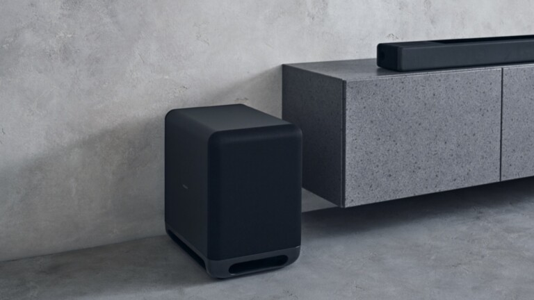 Sony SA-SW5 optional subwoofer for HT-A9/A7000 gives you powerful, booming sound