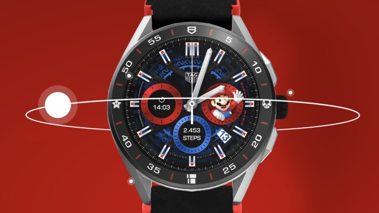Super Mario x Tag Heuer Connected smartwatch boasts a gamification rewards system