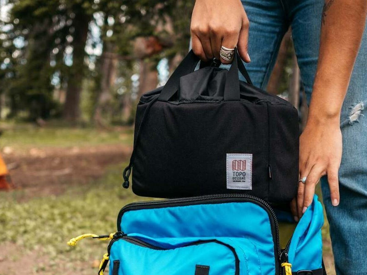 Topo Designs Camera Cube has customizable compartments that make any bag a camera bag thumbnail