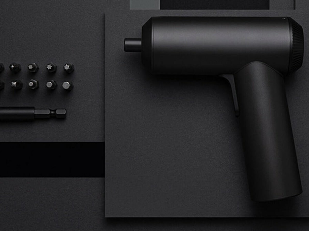 Xiaomi Mijia Cordless Electric Screwdriver has a strong magnetic motor with 5 N.m torque