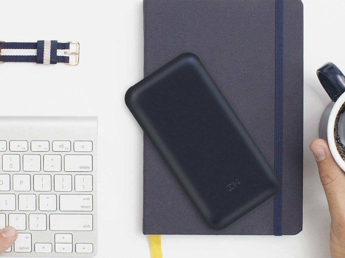 ZMI PowerPack 20K battery and hub for MacBook has USB-C/Thunderbolt 3 charging ports