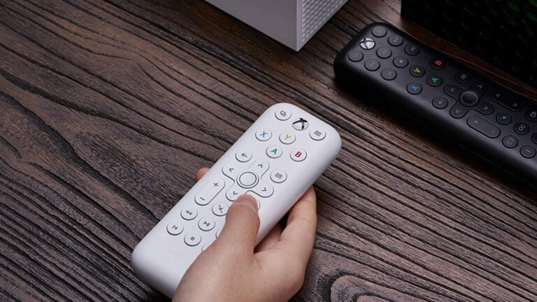 8Bitdo Media Remotes for Xbox have dedicated home buttons that wake up your Xbox