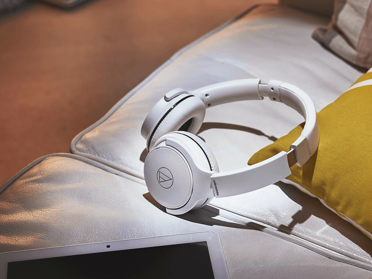 Audio-Technica ATH-S220BT wireless headphones offer up to 60 hours of battery life