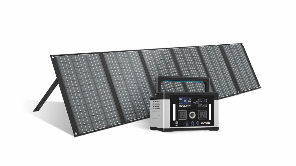 Keep your gadgets and devices running during an outage with this 600 Wh portable power station Boyone Wombat 600 Wh portable power station