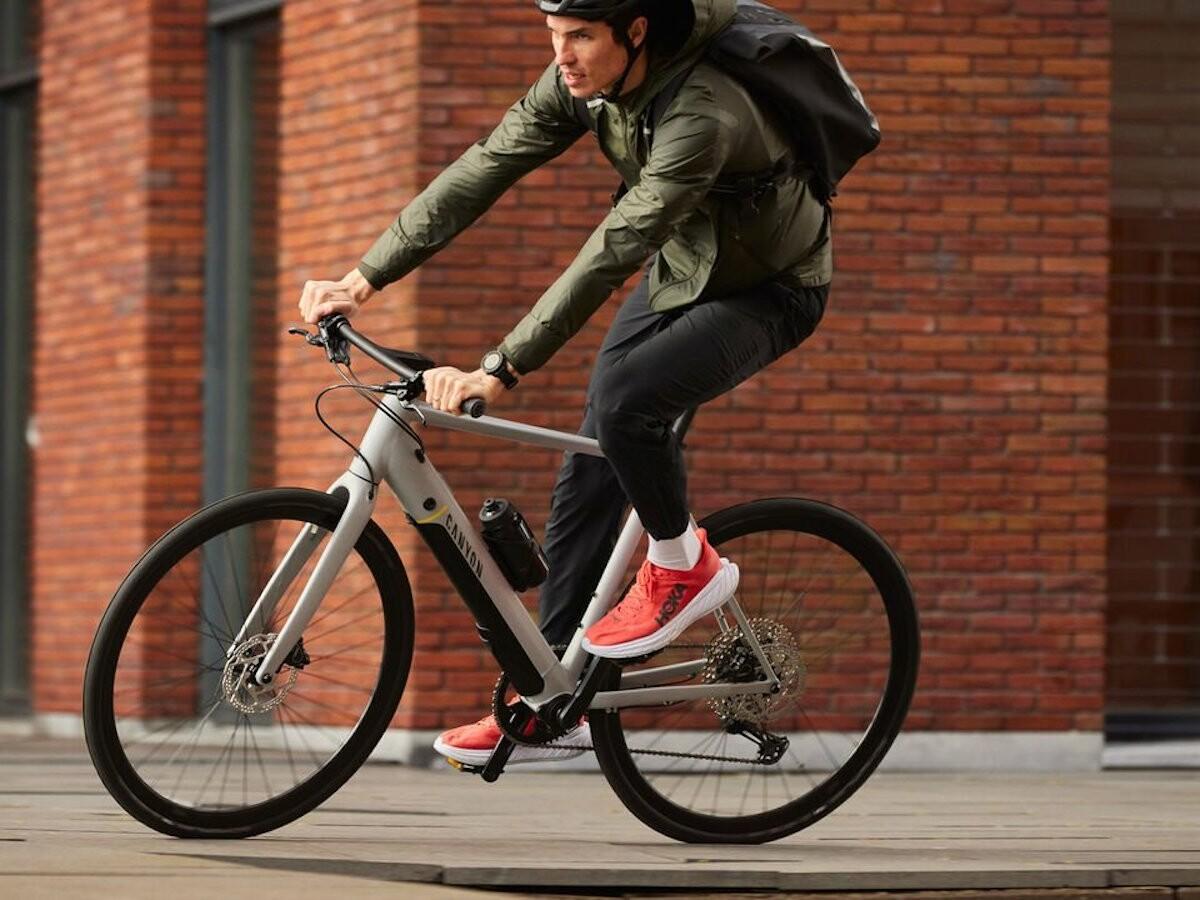 Canyon Roadlite:ON agile eBike series has smooth handling and a fitness bike feel