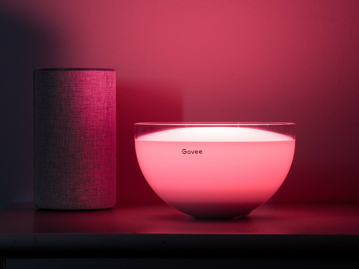 Govee StarPal Ambient RGBWW smart portable table lamp has Wi-Fi and voice control