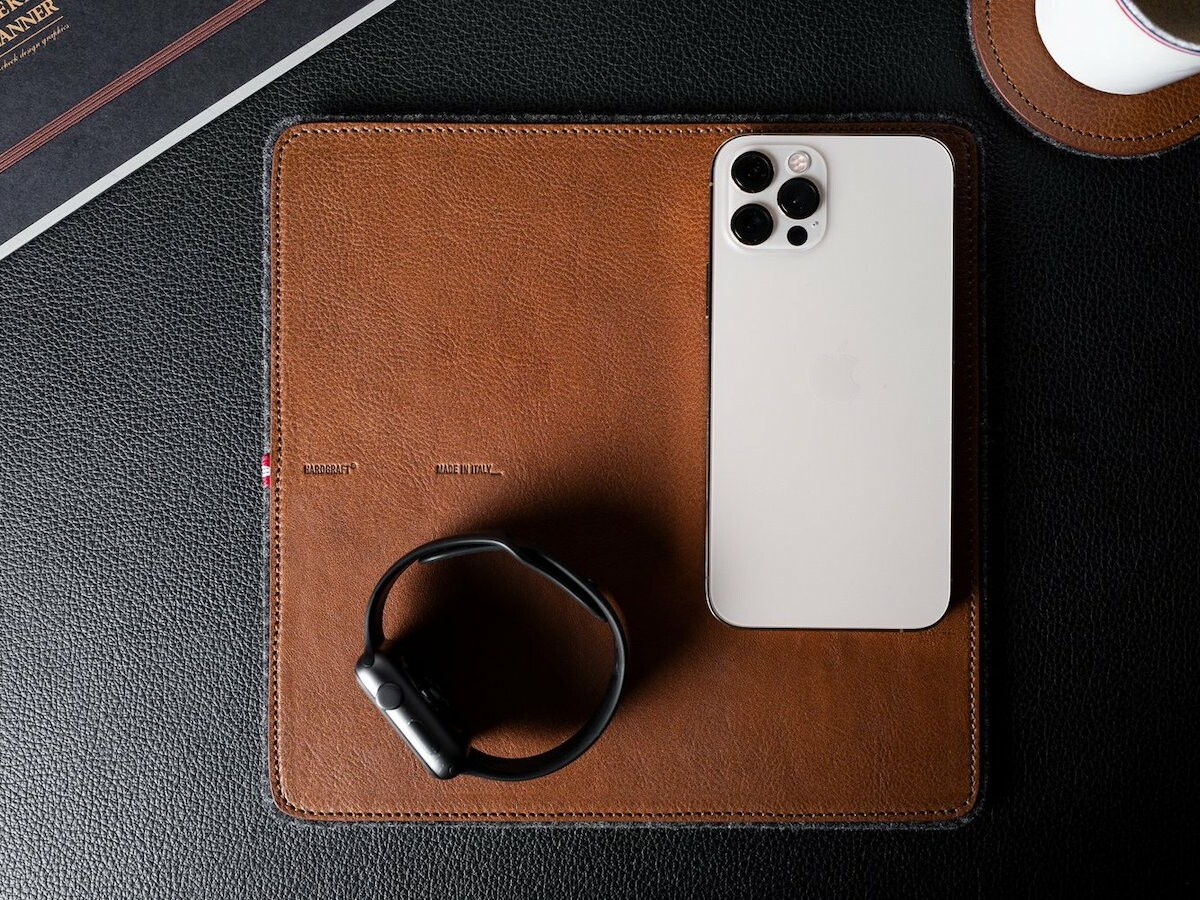 hardgraft Rest Station Square tech pad gives your devices a safe and soft place to rest