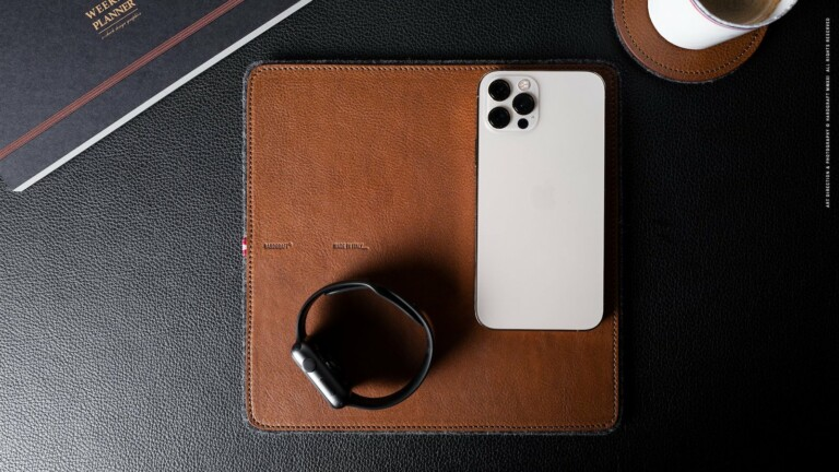 Hardgraft Rest Station Square . Classic tech pad gives your devices a safe place to rest