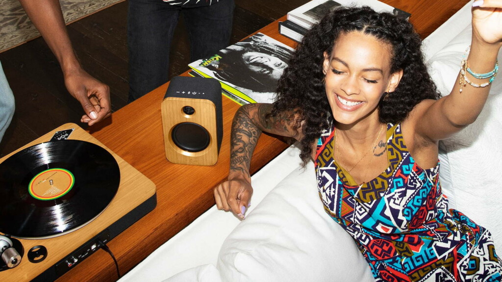 House of Marley Get Together Duo Bluetooth speakers