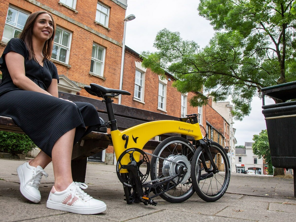 Hummingbird Electric Gen 2.0 folding electric bike weighs just 22.7 pounds for ease of use