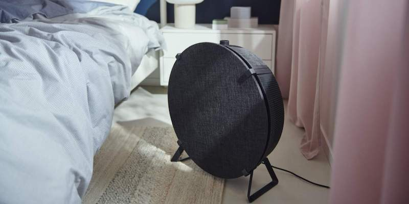 IKEA just made a smart air purifier that also doubles as a side table