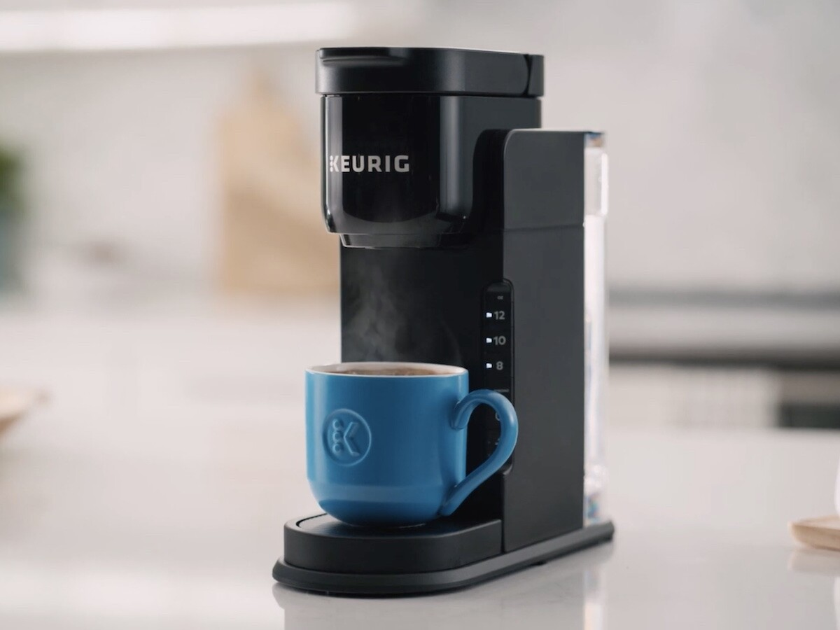 Keurig K-Express Single Serving Coffee Maker has a STRONG button for richer coffee