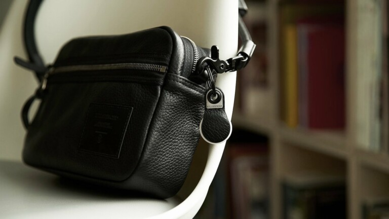 Killspencer AirTag Keychain stylishly & securely attaches to your important AirTags
