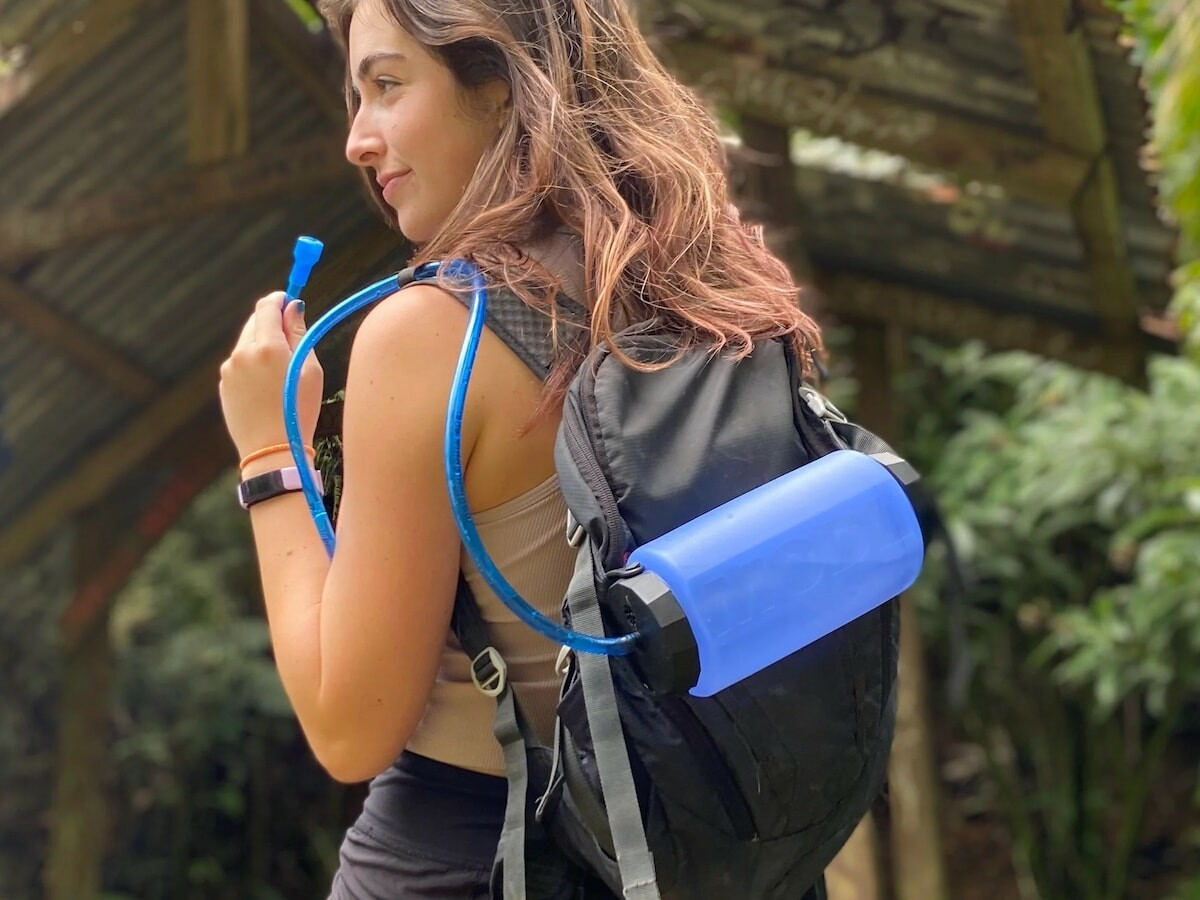 MODL versatile bottle makes water easy everywhere from the gym to the mountaintop