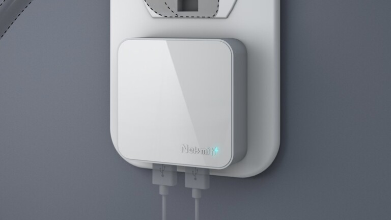 Nekmit 24-watt Flat USB Wall Charger has Smart IC Technology that recognizes your devices